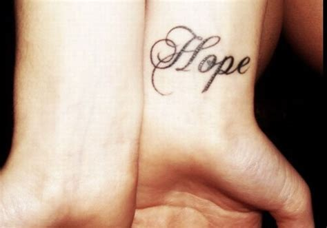 tattoo font feminine 25 beautiful hope tattoos creativefan