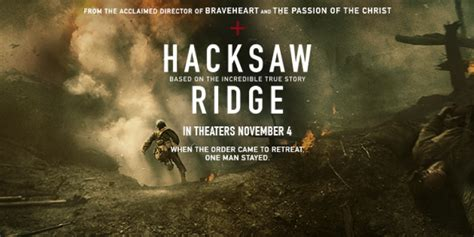 hacksaw ridge live 15 facts from the cast and crew of hacksaw ridge