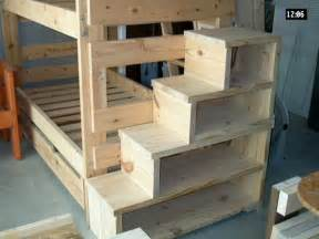 how to make loft bed with stairs quick woodworking projects