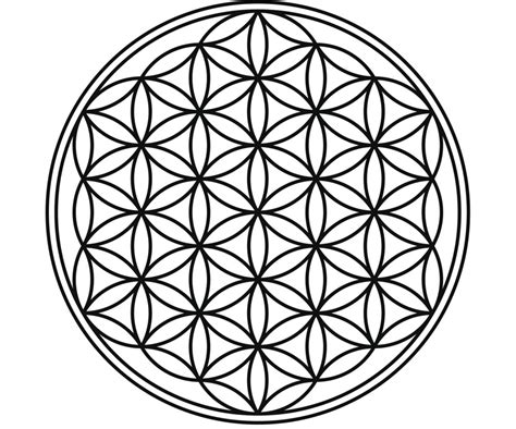 what does the flower of life symbolize is it sacred geometry