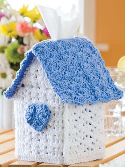tissue holder pattern free tissue cozy free crochet patterns
