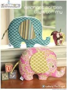 baby toy tutorial elephant sewing pattern soft toy tilly