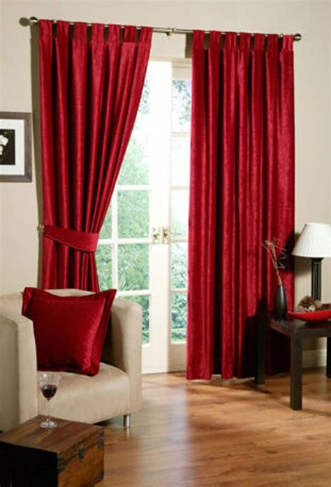red satin curtains beautiful curtain design for homes decozilla