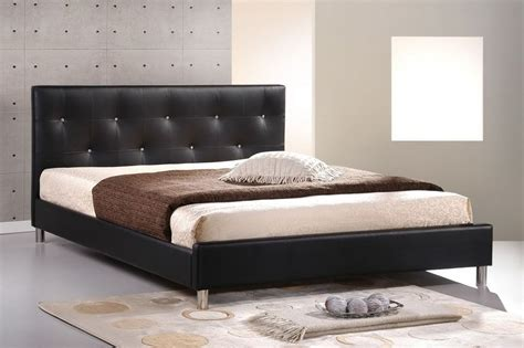 Bed Frame With Soft Headboard by Exquisite Leather High End Platform Bed Arizona