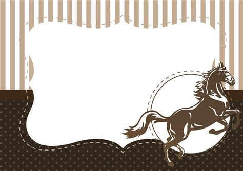 Modelo De Convite Para Festa Convites Para Festa Junina Convite Para Festa Cavalo Fazendo A Nossa Festa