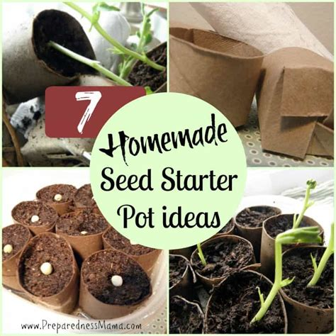 ways   homemade seed starter pots preparednessmama