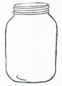 jar template jar illustrations an ink drawing of a jar