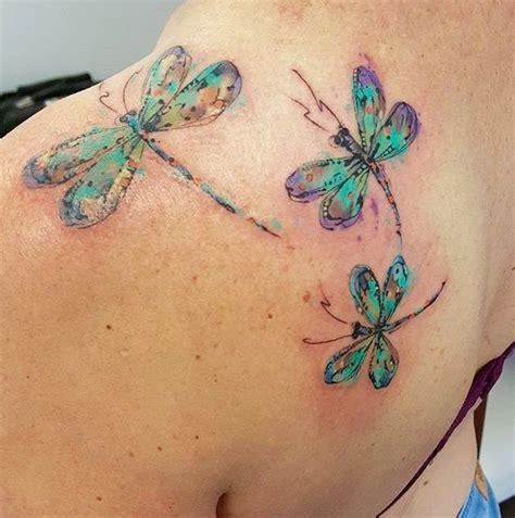 watercolor dragon tattoo 25 best watercolor dragonfly tattoo ideas on pinterest