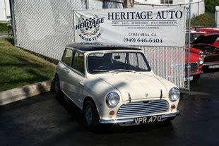 heritage house costa mesa heritage garage classic mini cooper parts service