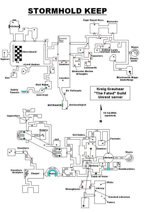 F06 Stormhold Keep II Map - EverQuest 2