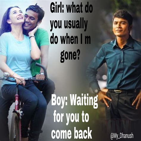 dhanush movie images with love quotes sad dhanush girl fc on twitter quot daily am updating