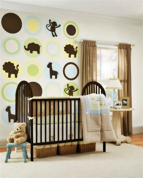 Nursery Decor Themes Essential Things For Baby Boy Room Ideas