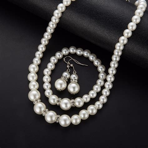 for jewelry pearl jewelry set