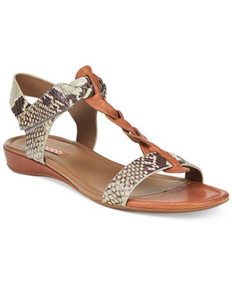 ecco shoes macy s ecco s bouillom knot ii sandals sandals shoes
