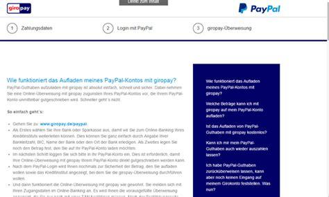 giropay sparda bank paypal konto aufladen in 5 schritten chip