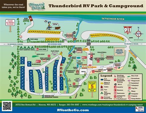 Rv Parks In Orange CA Thunderbird Mobile Home And Park