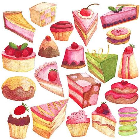 sweet treats food photography the and treats illustration pic