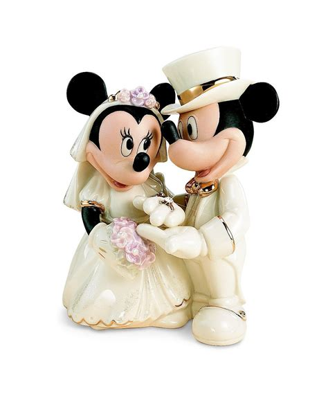 mickey and minnie mouse disney wedding cake topper disney wedding cake toppers by lenox disney engagement rings