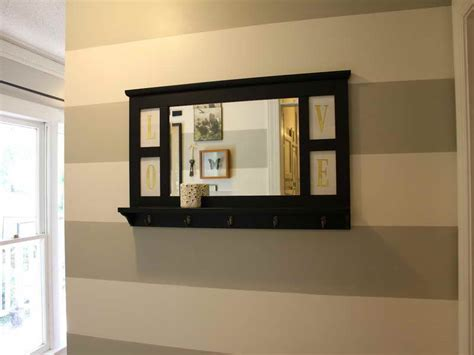 entryway mirror easy entryway mirror with hooks hallway decorating ideas