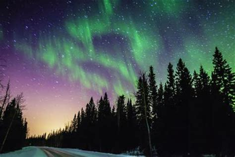 can you see the northern lights in maine get mesmerized with the northern lights of alaska found