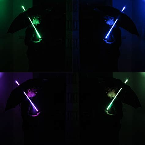 multi color changing led lights led umbrella multi colour changing light sabre with