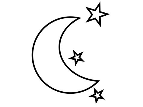 moon coloring pages moon coloring page 29371 bestofcoloring