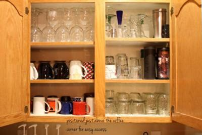 how to organize mugs in cabinet kitchen cabinet organization home design plan