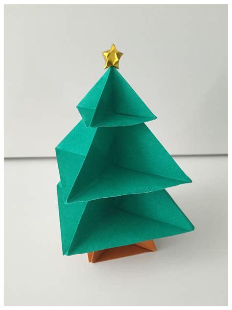 Origami Natal - arvore de natal de origami deinha origami elo7