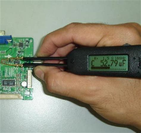 how do you check a capacitor with a digital meter bought smart tweezers electronics repair and technology news