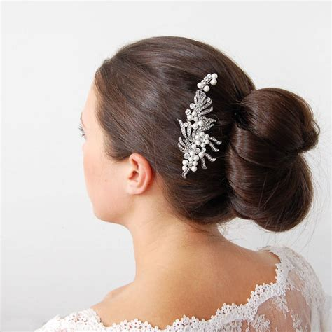 Wedding Hair With Ribbon by Wedding Hair Ribbon Unique Silver Ribbon Bridal Hair