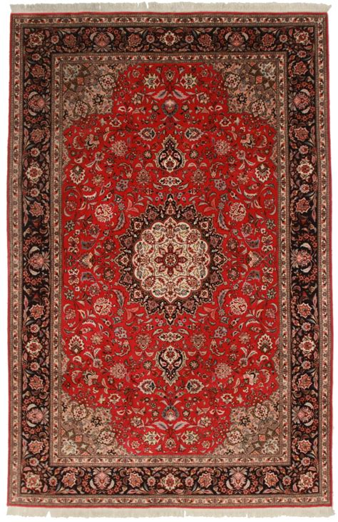 7 x 10 rug 7 x 10 silk wool tabriz rug 14325