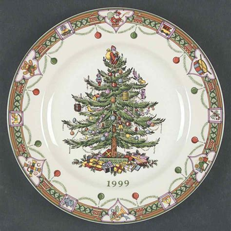 spode christmas tree green trim pattern spode christmas tree green trim 1999 collector plate