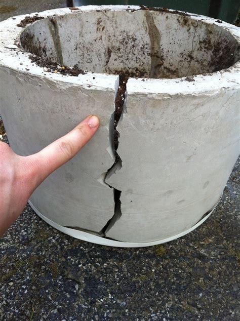 Concrete Flower Basket Planter by Cement Planters Fail Woven Baskets Win Merrypad