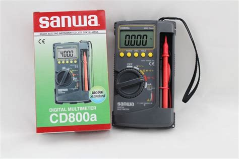 Digital Multimeter Cd800a sanwa cd800a digital multimeters my power tools