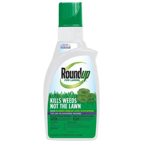 roundup for lawns roundup roundup for lawns 5 concentrate 32 oz southern