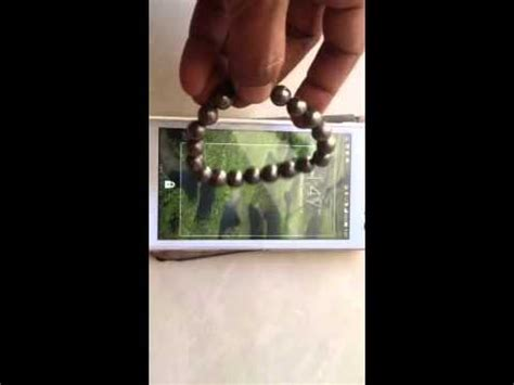 gelang badar emas bisa untuk menggerakan touch screen