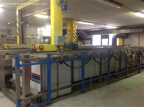 vasca galvanica impianto galvanico automatico usato impianto galvanico