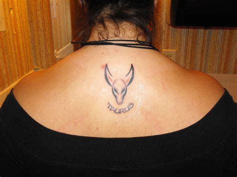 taurus tattoos for females taurus images designs