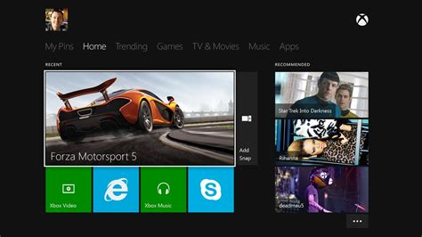 xbox one dashboard won t ads on the home screen