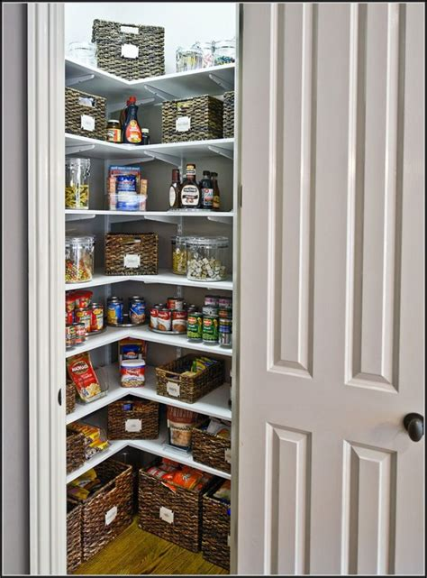 Pantry Shelf Spacing by Corner Pantry Closet Design Pantry Home Design Ideas