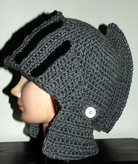 crochet pattern knight helmet free ravelry men s knight helmet hat pattern by amy lehman