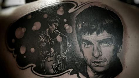 tattoo fixers artists tattoo fixers did an epic noel gallagher cover up radio x