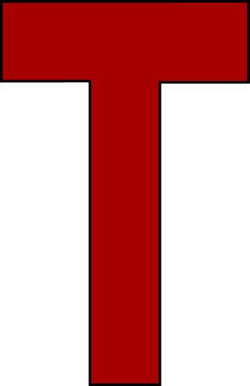 T Clipart