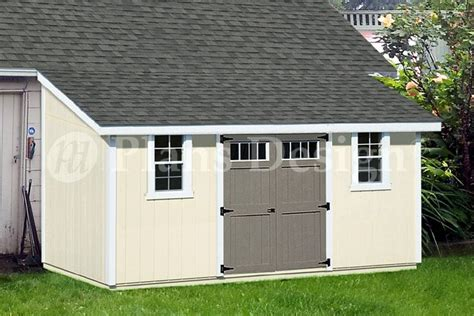 How To Build A Lean To Storage Shed by 10 X 16 Lean To Shed Plans How To Build Storage Shed