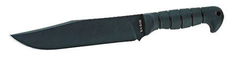 ka bar 1277 ka bar 1277 large heavy bowie fixed 9 quot 1085 carbon steel