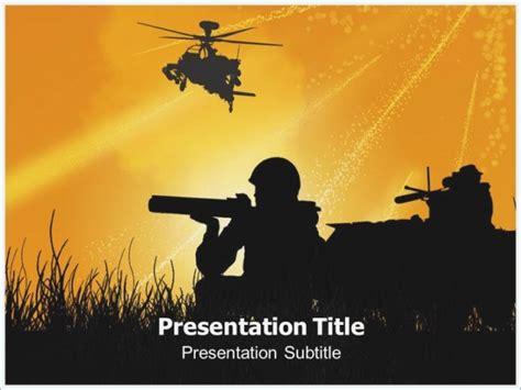 War Themed Powerpoint Template Pontybistrogramercy Com War Powerpoint Template