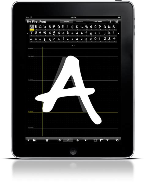 font design ipad one day at a time ifontmaker review