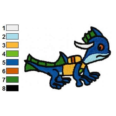 zap design house zap skylander embroidery design