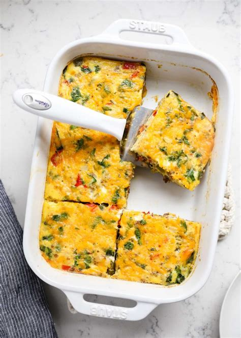 printable egg recipes make ahead sausage and egg breakfast casserole i heart