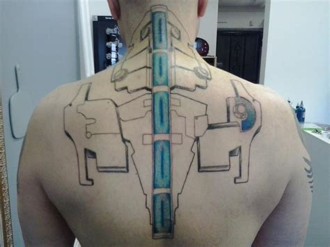 dead space tattoo tattoos pinterest back pieces